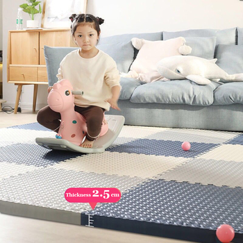 30x2.5 Cm Baby Puzzle Mat Play Mat Kids Interlocking Exercise Tiles Rugs Floor Tiles Toys Carpet Soft Carpet Climbing Pad EVA children s soft eva puzzle mat baby play carpet puzzle animal letter cartoon eva foam play mat pad floor for kids games rugs sgs