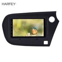 Harfey Car Multimedia Player for 2009 2016 Honda Insight RHD 7 Android 10.0 Radio GPS Navi HD Touchscreen Bluetooth FM Wifi SWC