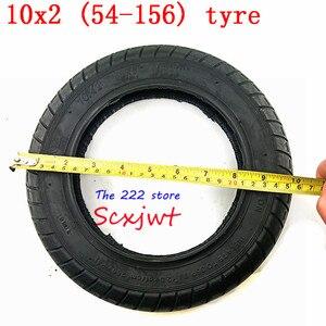 Image 5 - 10 นิ้วยางสำหรับXiaomi Mijia M365 ไฟฟ้าสกู๊ตเตอร์ 10X2 อัตราเงินเฟ้อล้อยางด้านในWanDa 10X2 (54 156) ยางนิวเมติก