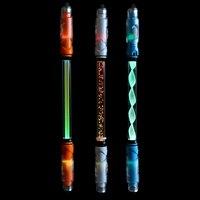 학교 문구 볼펜에 대 한 빛나는 회전 펜 고정 마커 펜 스크롤 회전 다기능 펜 반짝이