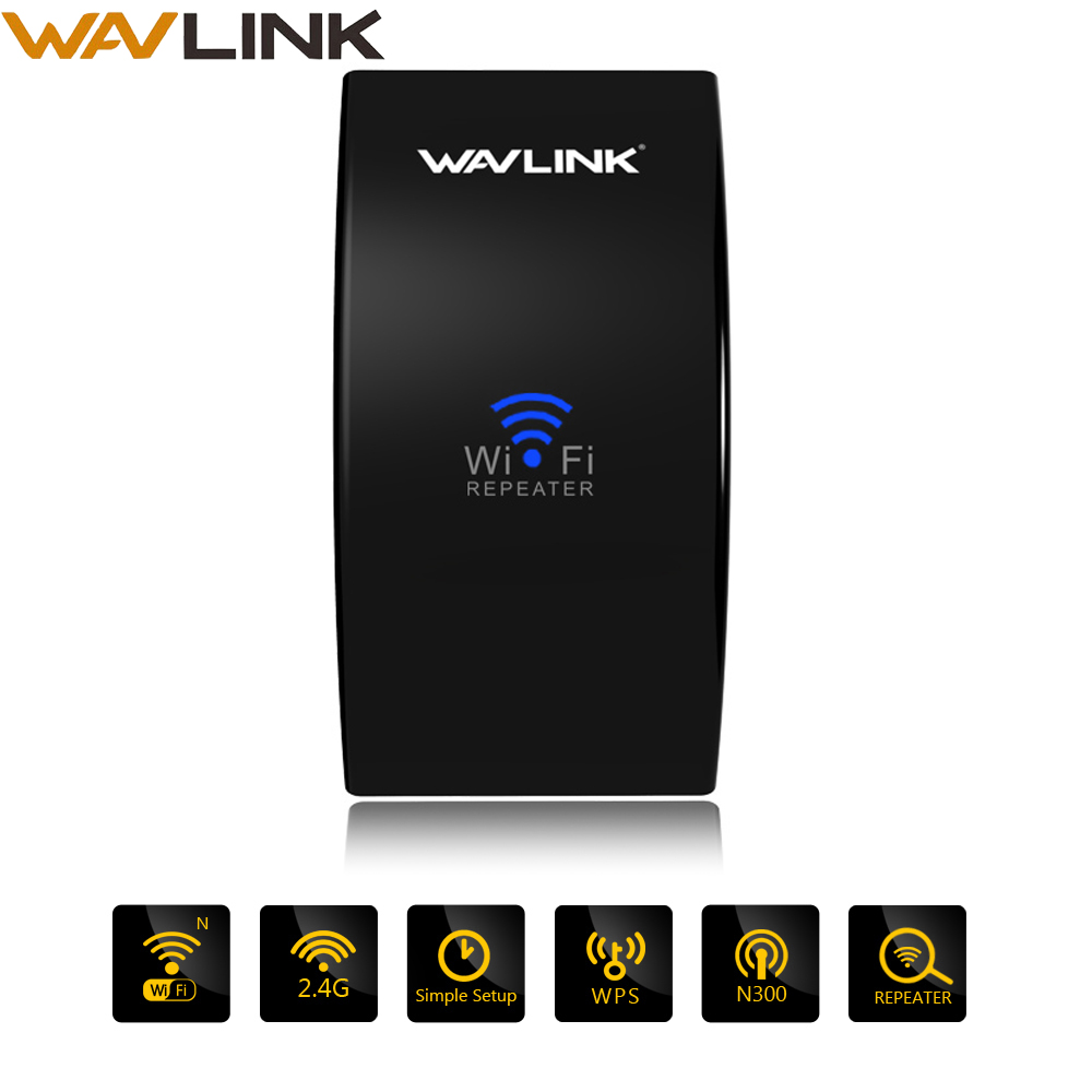 Wavlink 300mbps Wi-Fi Long Range Extender Wireless Wifi Repeater 2.4G Network WIFI Signal Amplifier Easy Setup Wifi Access Point