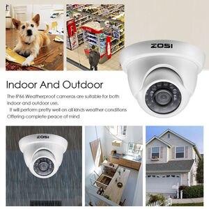 Image 2 - ZOSI 1080P Macchina Fotografica del CCTV Sistema di 4CH 1080P DVR Sistema con 2x Outdoor 2MP Video Telecamere di Sicurezza 2CH Casa kit Telecamera di sorveglianza