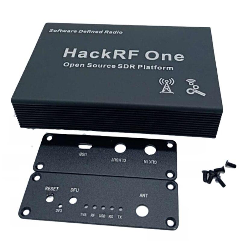 Schwarz Aluminium Gehäuse Abdeckung fall shell für HackRF Eine SDR