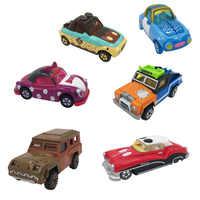 7cm Disney Pixar voitures foudre McQueen Mickey Minnie Winnie cendrillon citrouille voiture moulé sous pression jouets métal modèle voiture Halloween cadeau