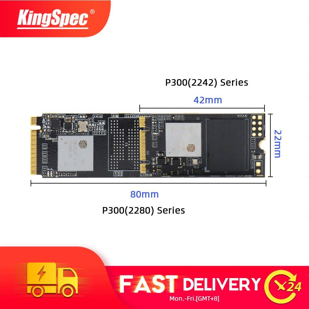 KingSpec M2 SSD 128gb 256gb M.2 2280 Ssd 512GB 1TB PCIe NVMe P300 Series 2242 SSD Hdd For Laptop Desktop Internal Hard Drive PC