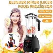 Mélangeur numérique 3HP 2L Touchpad automatique mélangeur professionnel mélangeur presse-agrumes haute puissance robot culinaire glace Smoothies fruits