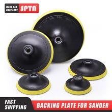 "SPTA 3 ""/4""/5 ""/6""/7 ""Backingแผ่นขัดขัดBuffingบัฟเฟอร์backer Pad Hook & LoopรถBacker Plateเลือกขนาดชุด"