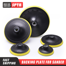 """SPTA 3 """"/4""""/5 """"/6""""/7 """"destek plakası parlatma parlatıcı tampon destek pedi kanca & döngü araba destek plakası seçiniz boyut ve setleri"""