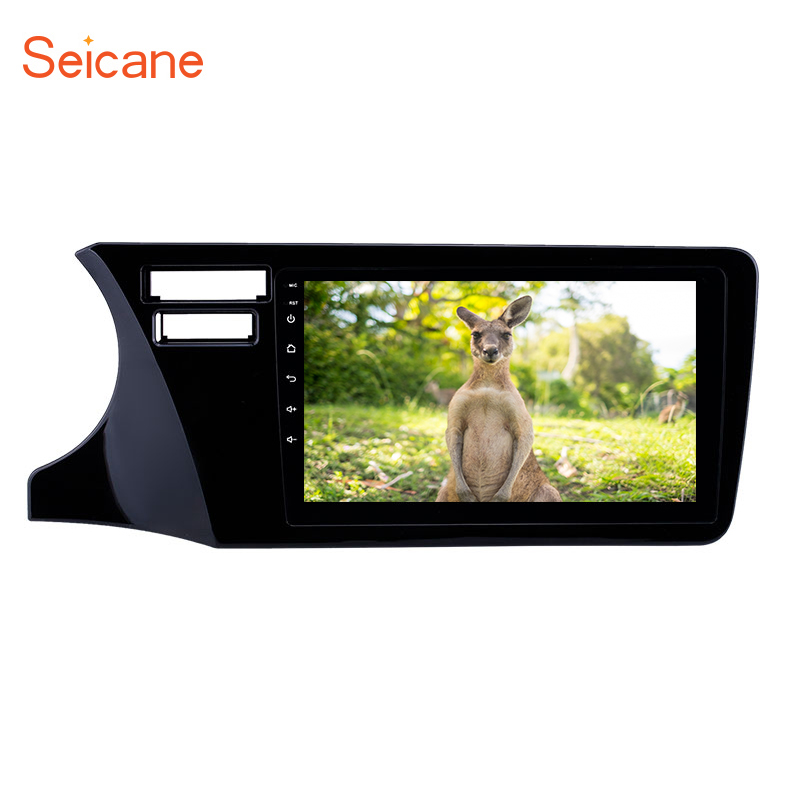 <font><b>Seicane</b></font> 2Din 9inch Android 8.1 Car GPS Multimedia Player Unit For <font><b>Honda</b></font> <font><b>City</b></font> 2014 2015-2017 LHD Support Steering Wheel Control image