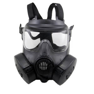 Gas-Mask Protective-Mask EXHAUST-FAN-FILTERS Airsoft Military Tactical Full-Face