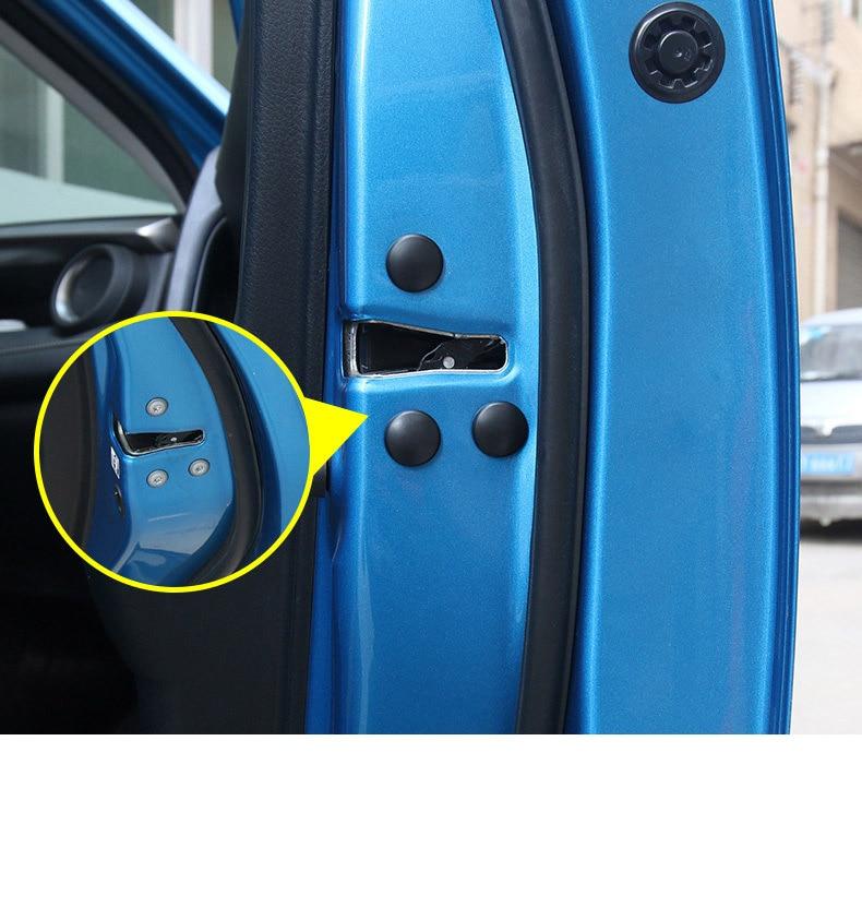 Lsrtw2017 Abs Car Door Edge Screw Cover Anti-rush Waterproof Interior Accessories