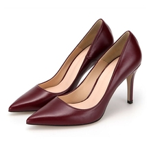 2020 Autumn Female Pumps Pointed Toe Sexy High Heels Black Wine Red Women Shoes Office Lady Wedding Party Plus Size 34-41 B0021 ol office lady classics women sexy stiletto high heels pumps shoes pointed toe shoes red black wedding party shoes nlk a0092