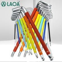 LAOA S2 Alloy Steel Hexagon Wrench Hex Torx Hexangular Screwdriver with Magnetic