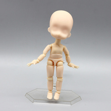 цена на 10cm Figuarts BODY KUN / BODY CHAN HE /SHE Ver. PVC Action Figure Toys BODY KUN / BODY CHAN drawing figures Model Toys kid gift
