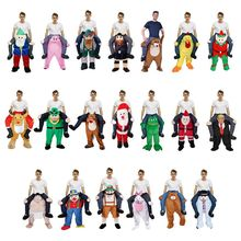 Unisex Funny Piggy Back Cosplay Costume Christmas Halloween Animal Ride-On Pants 40JF