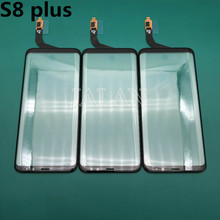 Original Glas Mit Touch Verwenden Für Samsung S8 Plus Beschädigt Frontscheibe Ersatz G955 LCD Display Bildschirm Reparatur