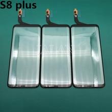 Panel de cristal frontal dañado para Samsung S8 Plus, repuesto de pantalla LCD G955