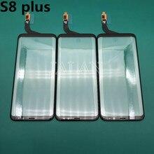 Vetro originale Con Touch Uso Per Samsung S8 Plus Sostituzione del Pannello In Vetro Anteriore Danneggiato G955 Display LCD di Riparazione Dello Schermo