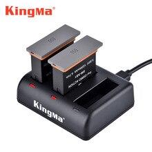 2pcs Bateria Para Dji Osmo Ação + action camera Carregador de bateria Para DJI Osmo 4K Câmera de ação à prova d água acessórios