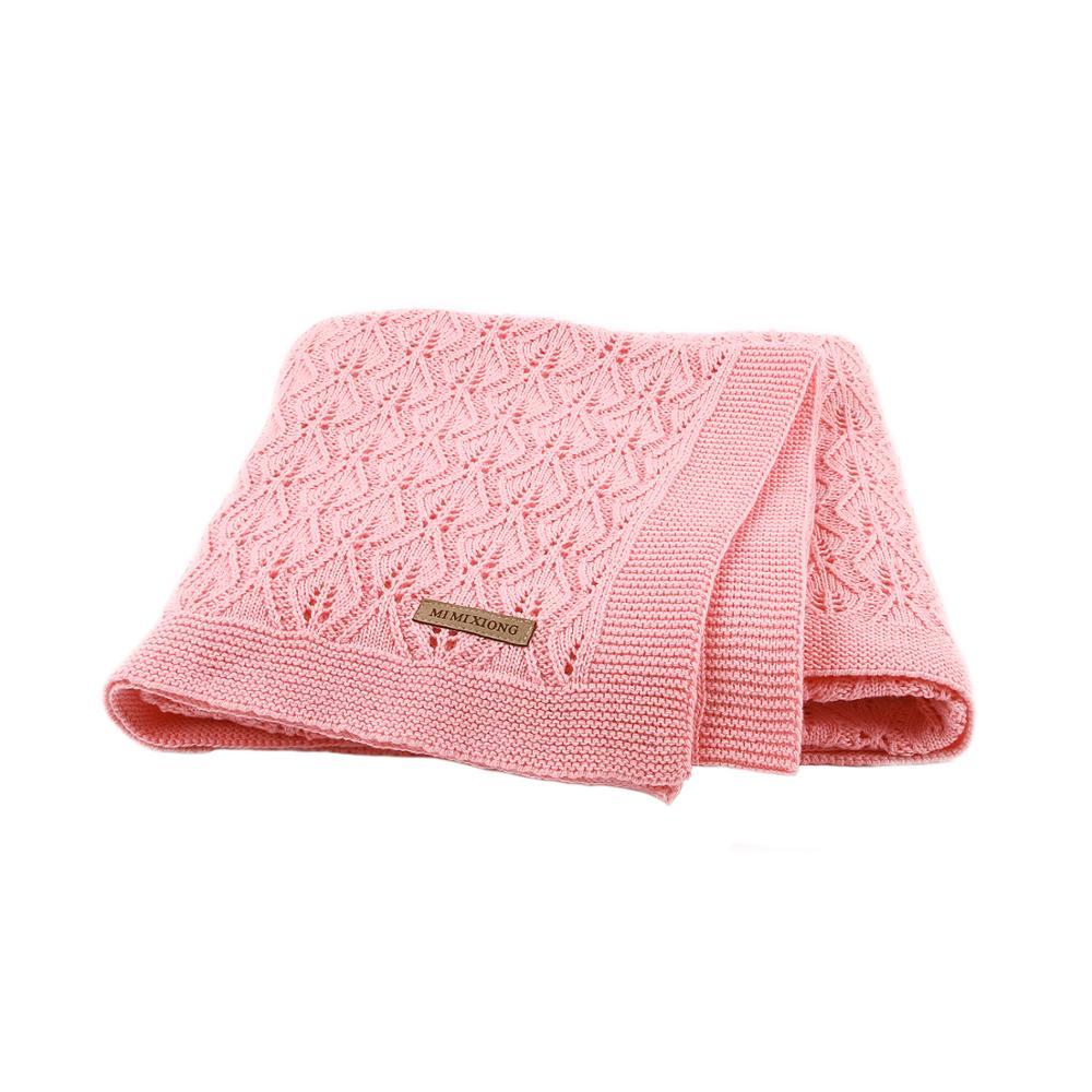 Ultimate SaleBaby Blankets Swaddle-Wrap Stroller Sleeping-Bed Knitted Bebes Newborn Soft-Infantil