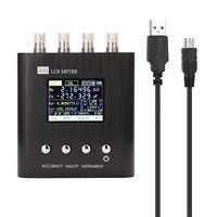 KKMOON portátil LCR Puente Digital medidor LCR resistencia capacitancia inductancia medición herramienta Tester