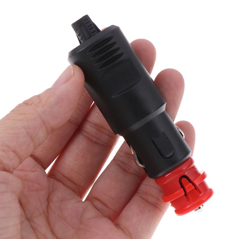 12V-24V Car Cigarette Lighter Power Connection Cigaret Socket Adaptor Male Plug