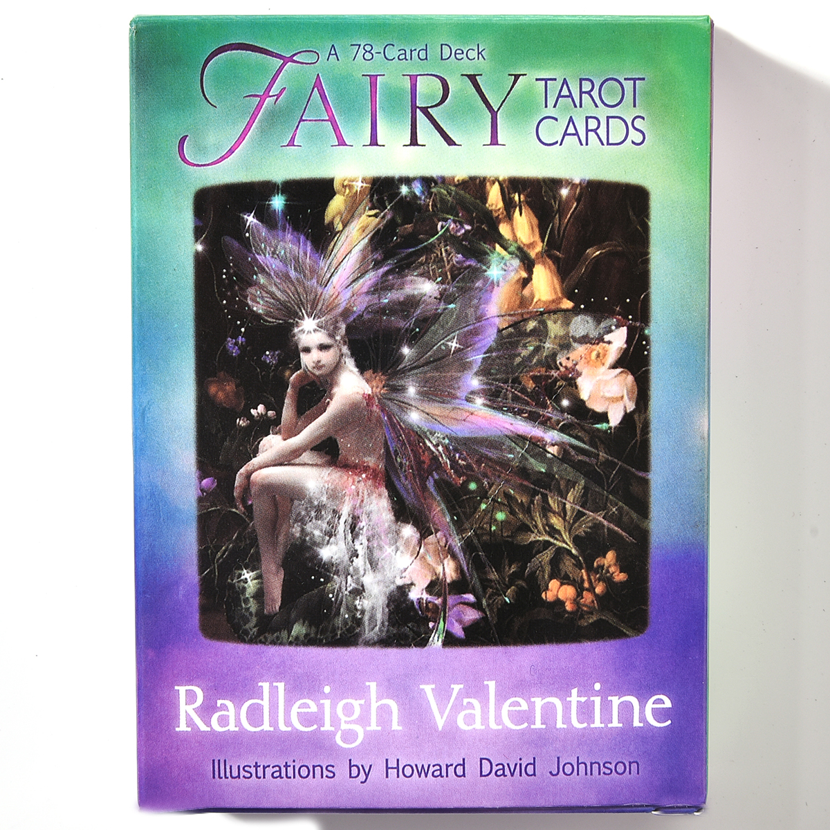 Fairy Tarot Cards A 78 Card Deck Radleigh Valentine Lllustrations High Quality Board Oracle Party Game Divination