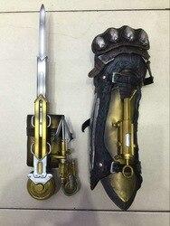 Assassin's Creed 6 sindicato armas de Cosplay accesorios 1: 1 Lawrence de mano con espada de manga s