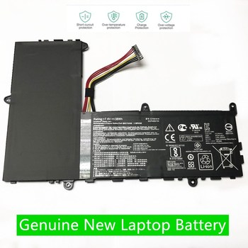 HKFZ NEW 7.6V 38WH C21N1414 Laptop Battery For ASUS EeeBook X205T X205TA X205TA-BING-FD015B 11.6 Free 1 Years Warranty image