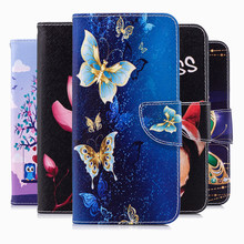 Butterfly Painted PU Leather Flip Case For Nokia 4.2 3.2 2.2 1 Plus 7.1 5.1 3.1 2.1 8 2 1 Cases Funda Wallet Cover Coque(China)