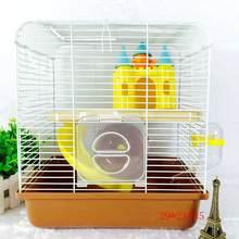 Draagbare Kleine Size Huisdier Kooi Ontmoette Kasteel Vorm Speelgoed For A Hamsters 27*21*32