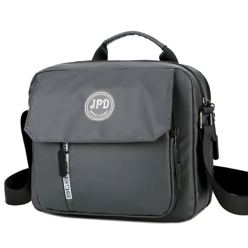 Man's Handbag Over His Shoulder Anti-splashing Business Men's Bag Large Capacity Simple Casual Messenger Bag Fashion Men Handbag