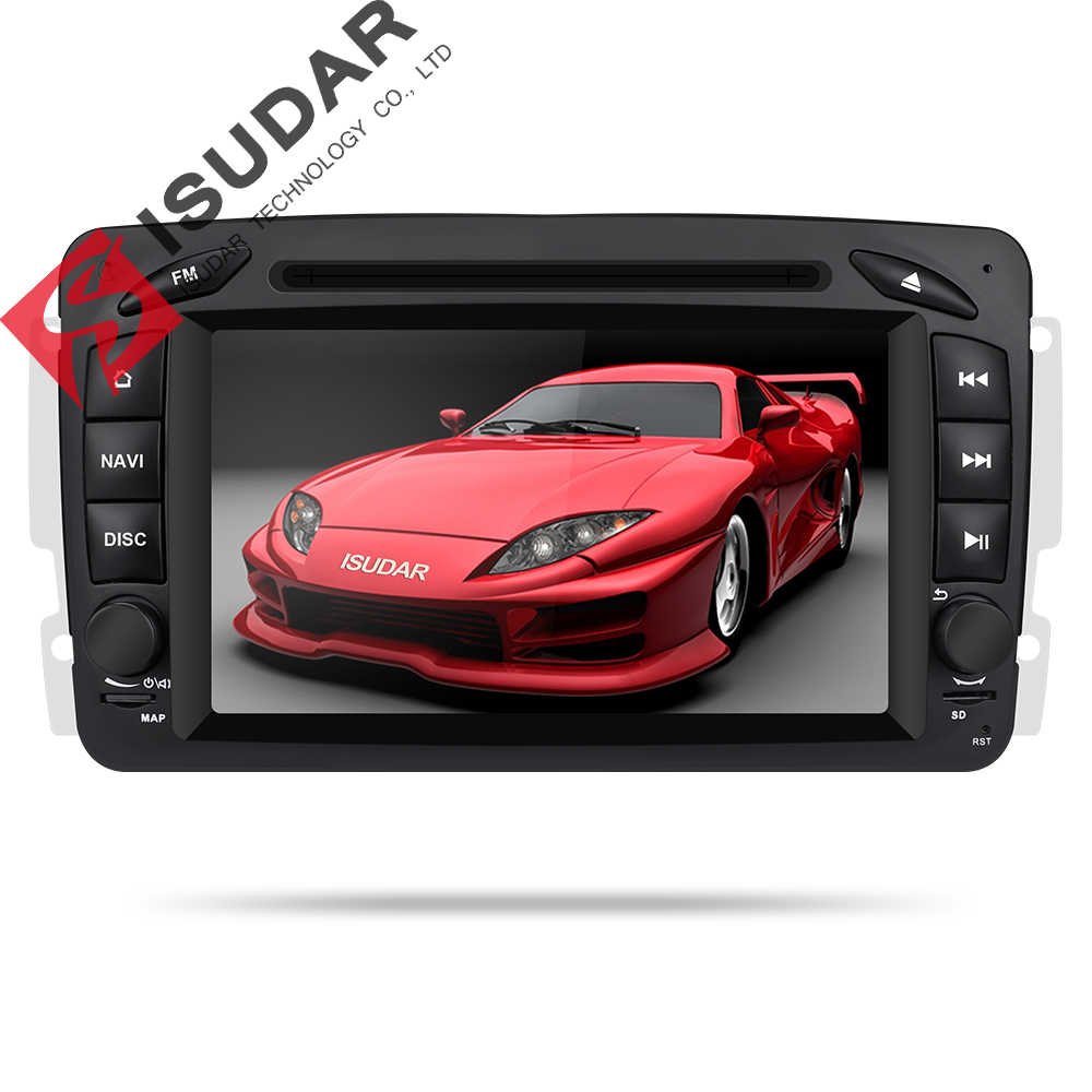 Isudar Car Multimedia player Android 9 2 Din GPS Autoradio For Mercedes/Benz/CLK/W209/W203/W208/W463/Vaneo/Viano/Vito FM DSP DVR