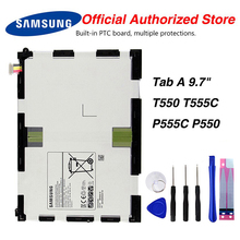 Original Samsung EB-BT550ABA Battery Tablet For GALAXY Tab A 9.7 T550 T555C P555C P550 6000mAh цена 2017