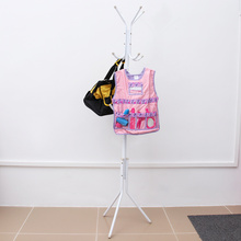 Hanger Hat-Rack Stand Clothes-Organizing-Rack Iron-Coat Bedroom 2 for Home White White