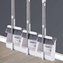 2/3 pces vassoura e dustpan conjunto combinação com vassoura de limpeza extensível vassoura conjunto pá dobrável e em pé mops casa