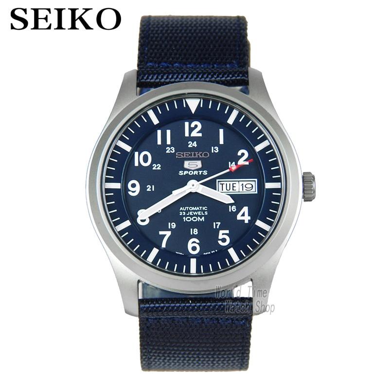 Seiko Watch Men 5 Automatic Watch Luxury Brand Waterproof Sport Wrist Watch Date Mens Watches Diving Watch Relogio Masculin SNZG