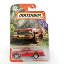 95 NISSAN HARDBODY D21 Matchbox Cars 1:64 Metal Material Body Race Car Collection Alloy Car Gift