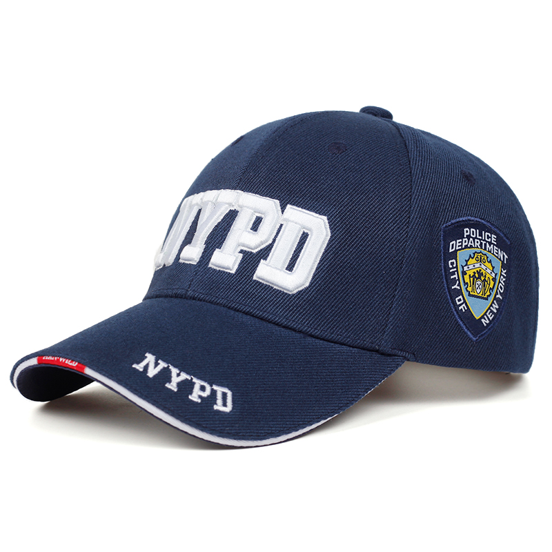 New NYPD Letter Embroidery Baseball Cap Men And Women Universal Cap Outdoor Sports Golf Cap Fashion Hip Hop Cap