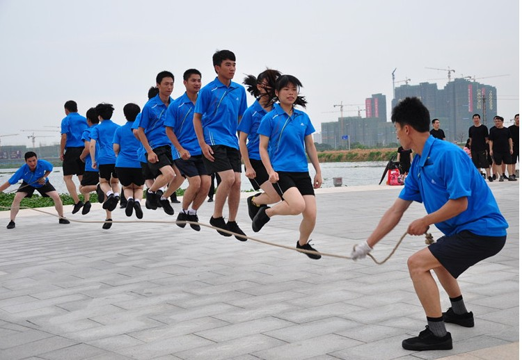 Groups Jump Rope 5/6/7/10/12-Metre Multi-Person Cotton Linen Long Rope Collective Rough Aggravate Students