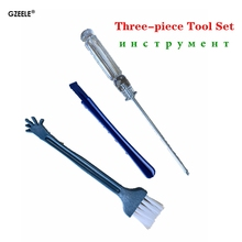 GZEELE tool screwdriver Dismantling rod Cleaning brush Lapto
