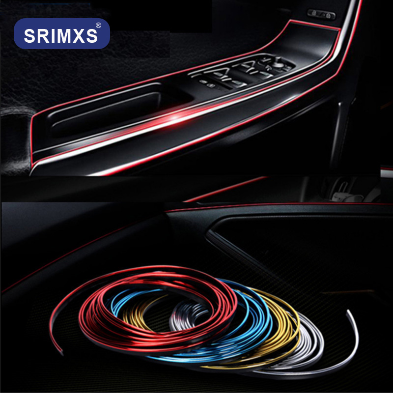 3M 5M Car Styling <font><b>Interior</b></font> Exterior Decoration Strips Stickers <font><b>for</b></font> <font><b>Peugeot</b></font> 206 207 301 307 308 <font><b>407</b></font> 408 508 3008 Car <font><b>Accessories</b></font> image