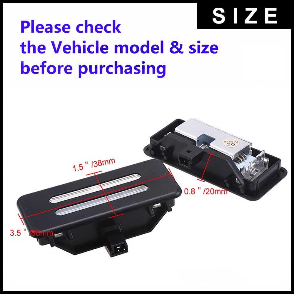 2X LED المرآة البالونية مصباح ل BMW E60 E61 E90 E91 E92 E70 E71E72 X1 X2 X3 X5 X6 E84 F25 E70 E71 E72 Led مصابيح للقراءة لمبات