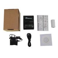 Milestone tasche Erhalt rechnung Bluetooth thermische Drucker USB PC 58MM Mini Tragbare Android IOS MHT-P10
