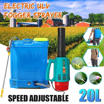 20L Protable Electric ULV Fogger Sprayer with battery Ultra Capacity Disinfection Machine Fight Drugs Sprayer Agricultural Spray