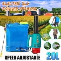 20L portátil eléctrico nebulizadora ULV rociador con batería Ultra capacidad de desinfección de lucha contra las drogas del rociador aerosol agrícola de