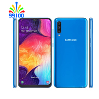 Refurbished Unlocked Cell Phone Samsung Galaxy A50 6.4inch  4GB+64GB/128GB Single/Dual Sim Octa Core 10nm Exynos 9610 1