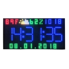 Indoor SMD2121 RGB Full Color P2.5 LED Module 64 x 32 Pixels 160 x 80mm HD Led Panel