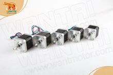 цена на 5PCS Wantai 3D Reprap Printer Nema17 CNC Stepper Motor 40mm/5000g.cm, 75 Oz-in/ 1.5A CNC stepper motor stepping motor 2 phases