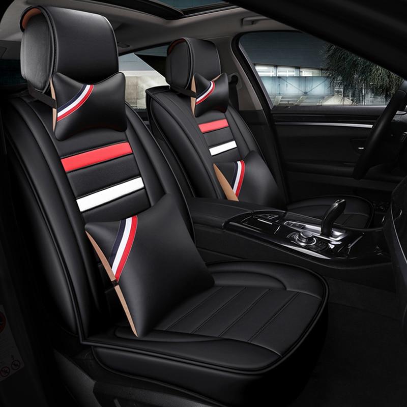 Universal Car Seat Cover For Hyundai Getz Solaris Creta I10 I30 I40 Tucson Kona Ioniq Ix 35 All Models Car Accessories